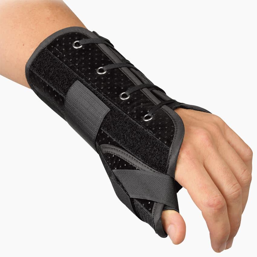 Handledortos | Wrist Lacer m Tumstöd Breg | REHABgrossisten