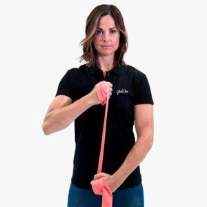 JobOut Strechband övning stående