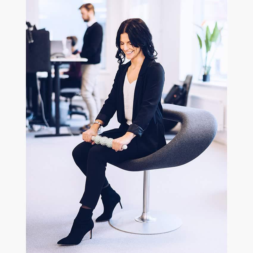 JouOut Massagerulle modell Anna Lindberg