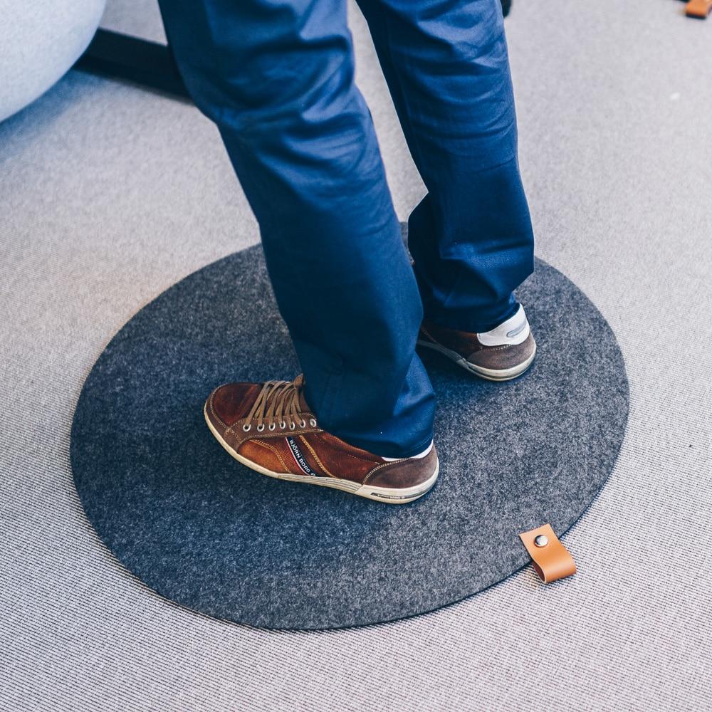 Ståmatta Design Rund - Jobout | REHABgrossisten